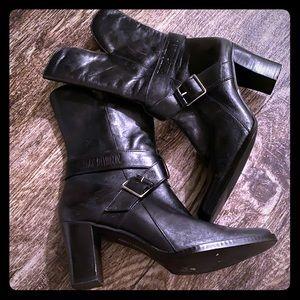 Harley Davidson heeled boots